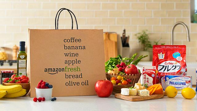 [amazon]アマゾンジャパンが、生鮮食品を最短4時間配送「amazonフレッシュ」を開始